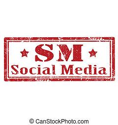 Social Media-stamp