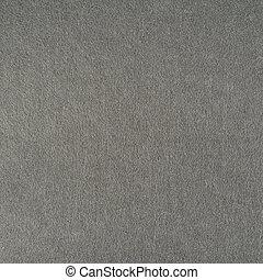 Felt cloth fragment - Gray felt cloth fragment as a...