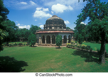 Lodi Gardens - Early mogul style tomb from the Lodi Dynasty...