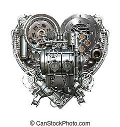 Heart - A technically mechanical heart at hard work