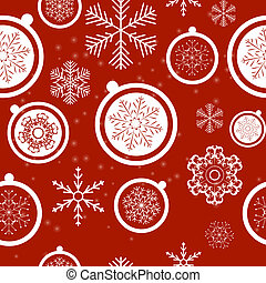 Happy New Year and Marry Christmas Seamless Pattern...