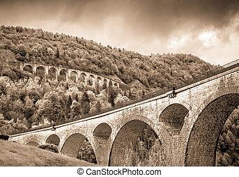 two ancient bridges