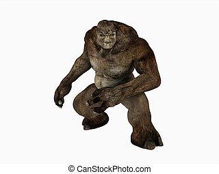 Troll - 3d render of a Troll