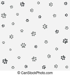 Seamless animal pattern, wallpaper