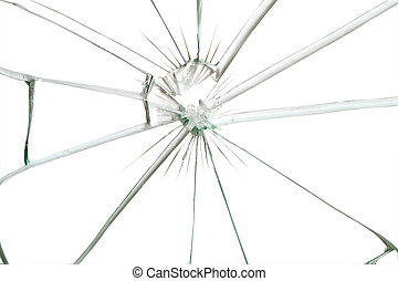 Broken Glass - Broken glass background for your images...