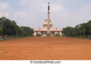Relic of Empire - Rashtrapati Bhavan former Viceroys House...
