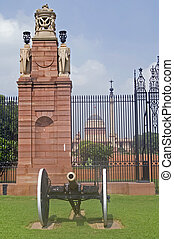 Home to the President of India - Entrance to Rashtrapati...