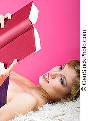 lesende, Buch
