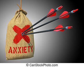 Anxiety - Arrows Hit in Target. - Anxiety - Three Arrows Hit...