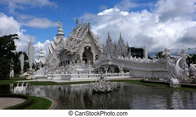 Around Wat Rong Khun. - Wat Rong Khun. More well-known as...
