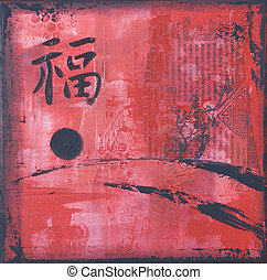 Asia painting