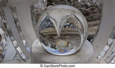 Magic Balls of Wat Rong Khun. - Wat Rong Khun. More...