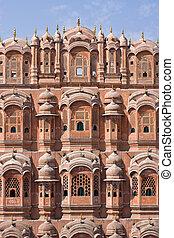 Hawa Mahal is a palace in Jaipur, India - Hawa Mahal, the...