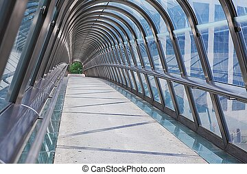 Kupka Bridge, La Defense, Paris, France - Kupka Bridge...