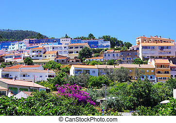 mountain town Monchique in the Algarve, Portugal
