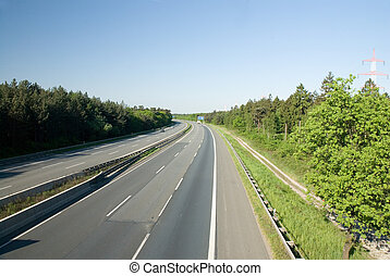 Autobahn, Highway in Germany