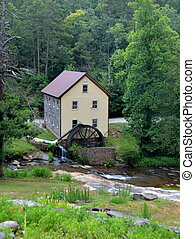 Sell's Mill at Hoschton, Georiga, USA