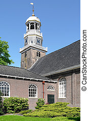 Reformed Church. - Reformed Church in the center of Lemmer...