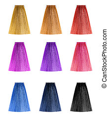 Hair color set