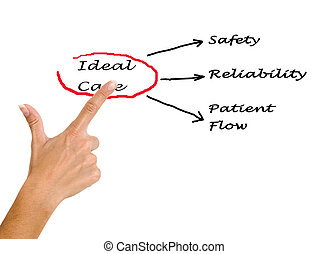 Diagram of ideal care