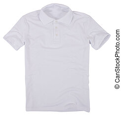 Polo shirt isolated on white background. - Polo shirt...