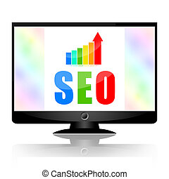 Seo, search engine optimization and growing business stats...