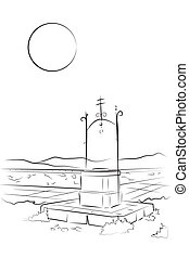 Well Wish - Coloring page for kids