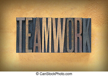 Teamwork Letterpress