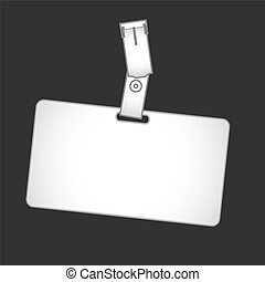 Badge Holder - Form is designed to provide information about...