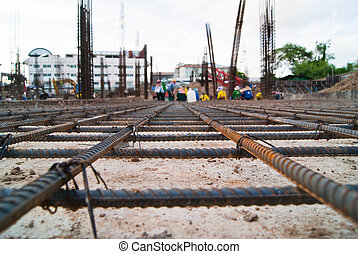 Steel mesh construction