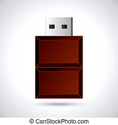 Chocolate flash drive - Computer Device for storing and...