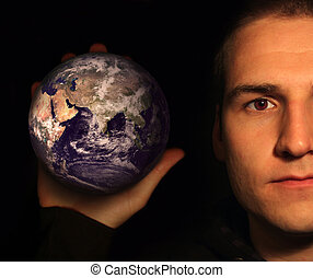 The world in your hand - Holding The world in your hand on...