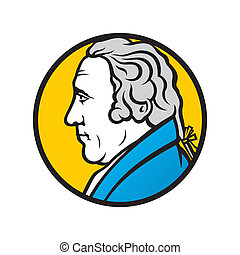 Engineer and inventor James Watt - Branding identity...