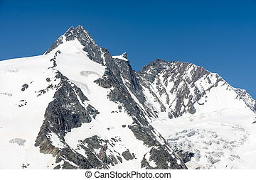 Grossglockner Mountain Peak - The peak of the Grossglockner,...