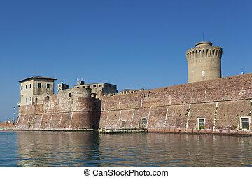 Port of Livorno, Tuscany, Italy
