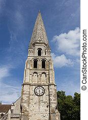 Saint-Germain, abadia, Auxerre, Yonne, departamento,...