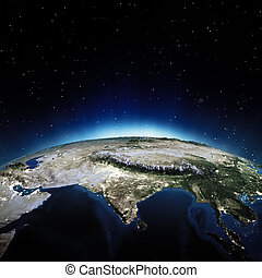 India Elements of this image furnished by NASA