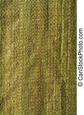 verde, cestería, textura