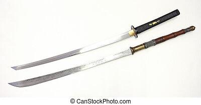 dois, espadas
