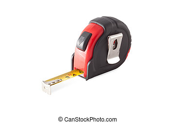 Red-black tape measure.
