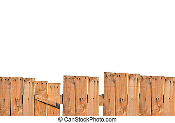 Fence - Plank was introduced to as a fence, which isolated...