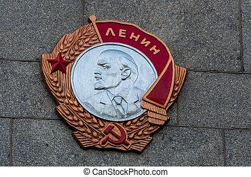 lenin sign in ukraine
