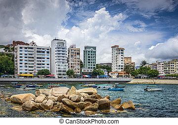 Stanley, Hong Kong - Stanely, Hong Kong, China skyline at...