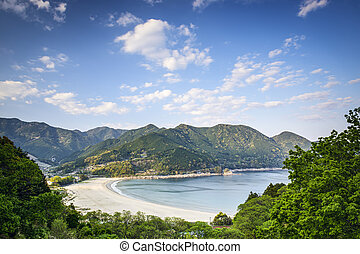 Atashika Beach, Japan - Atashika Beach in Kumano City, Mie...