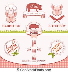 porc, cochon, lard