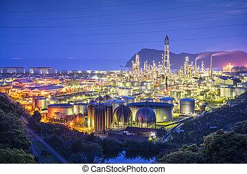 olio, Raffinerie