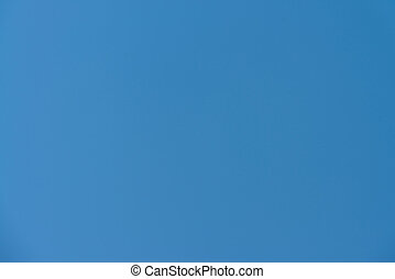 Truly Blue Sky - An Image Of A Truly Blue Sky Without Clouds