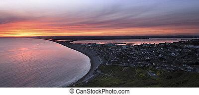 Chesil beach  - Chesil Beach Sunset