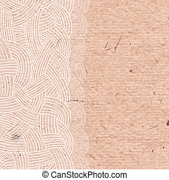 Abstract background of interwoven strands of on the...
