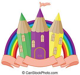 Back to School. fabulous castle